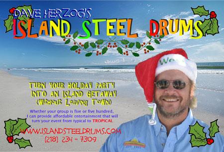 Dave Herzog Island Steel Drums
